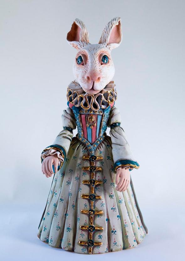 """מהתערוכה """"דולס ארט"""" במוזיאון יפו. מוקדשת לאמנות הבובה, צילום: ליאור קסם"""
