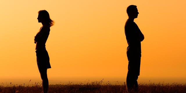 גירושין. לפעמים השהייה הממושכת ביחד מזיקה , צילום: bigstock