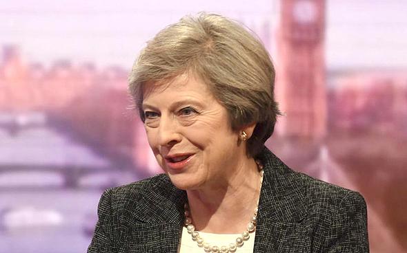 ראש ממשלת, בריטניה תרזה מיי