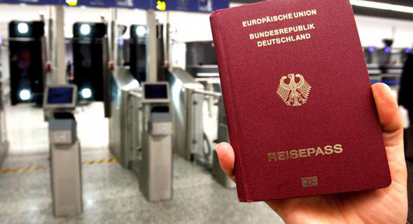 דרכון גרמני, צילום: גטי אימג