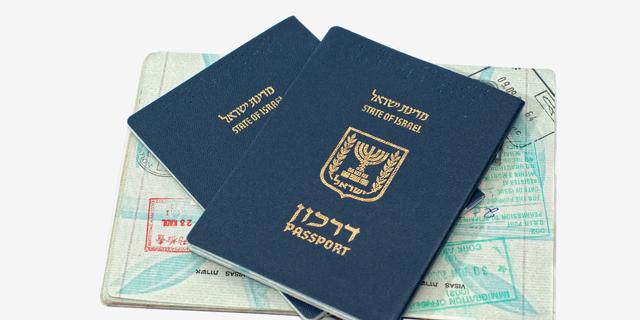 דרכון ישראלי פספורט ישראל, צילום: שאטרסטוק