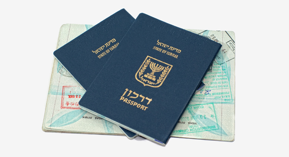 Israeli passports. Photo: Shutterstock