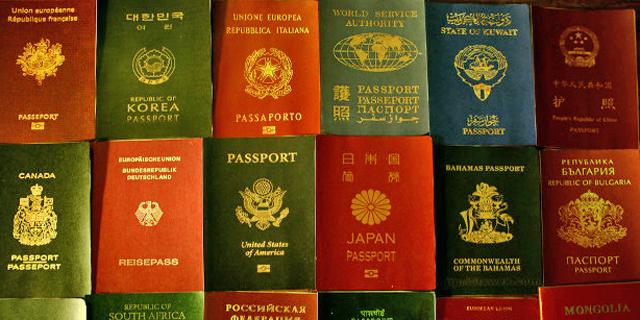 """זהו הדרכון החזק בעולם - וכמה """"שווה"""" הדרכון הישראלי?"""
