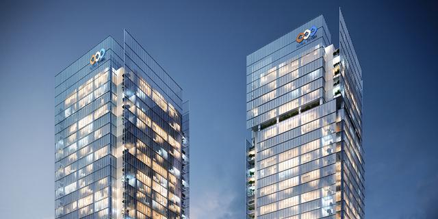 חברת מגדלי ישראל תקים 2 מגדלי משרדים על ציר ז'בוטינסקי בפתח תקווה
