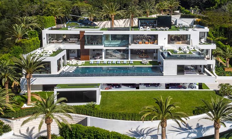 """הבית היקר ביותר בארה""""ב בלוס אנג"""