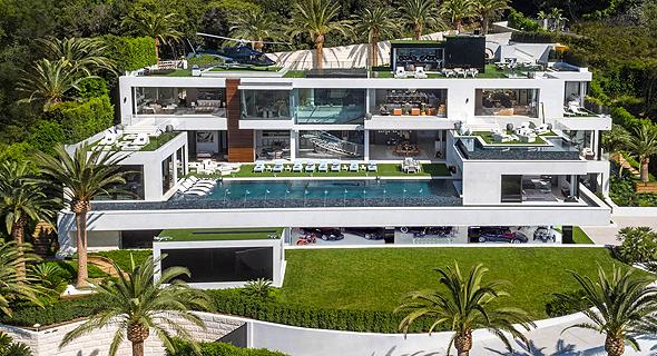 """הבית בלוס אנג'לס שנשא עד כה בתואר הבית היקר ביותר בארה""""ב. """"רק"""" 250 מיליון דולר"""
