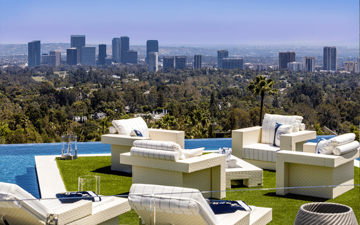 מבט על לוס אנג'לס