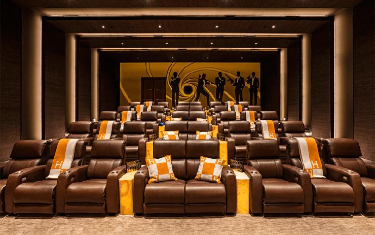 אולם קולנוע ביתי, צילום: 924belair.com