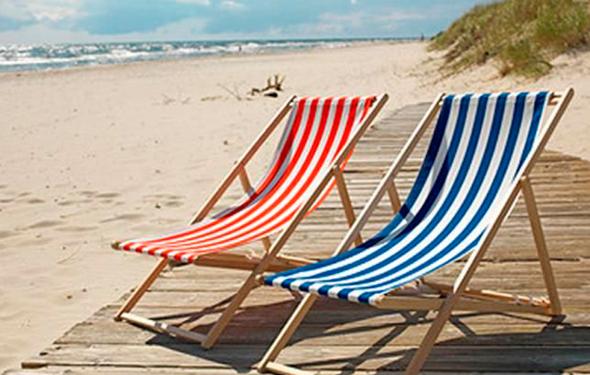 כיסא חוף של איקאה ריקול מסדרת MYSINGSÖ