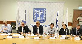 מסיבת עיתונאים של משרד האוצר לסיכום 2016 משה כחלון, צילום: אוראל כהן