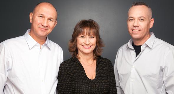 יזמי הקרן עופר אברם, שרון שוופי ואיתי מל, צילום: נועה זני