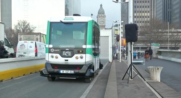לפעמים עדיף שיהיה נהג. אוטובוס אוטונומי שהופעל בצרפת