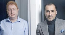 מימין יוג'ין גרינברג ודימיטרי גייזרסקי, צילום: עמית שעל