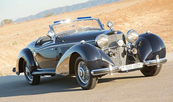 ניס מכונית מרצדס שהוברחה מהנאצים נמכרה תמורת 6.6 מיליון דולר KV-24