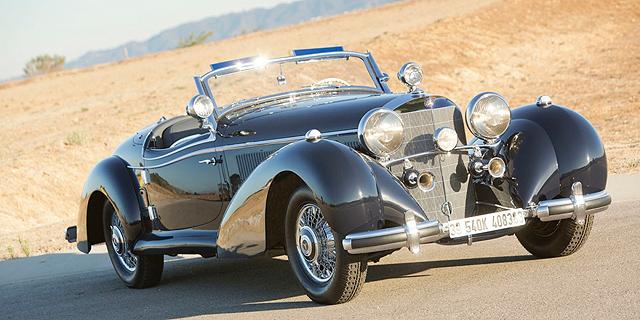 מכונית מרצדס שהוברחה מהנאצים נמכרה תמורת 6.6 מיליון דולר
