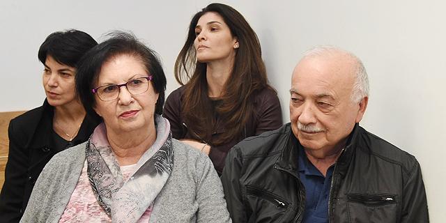 """אליעזר וטובה פישמן באחד הדיונים בביהמ""""ש, צילום: יאיר שגיא"""
