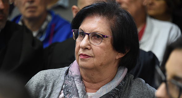 טובה פישמן אשתו של אליעזר פישמן בית המשפט 25.1.17, צילום: יאיר שגיא