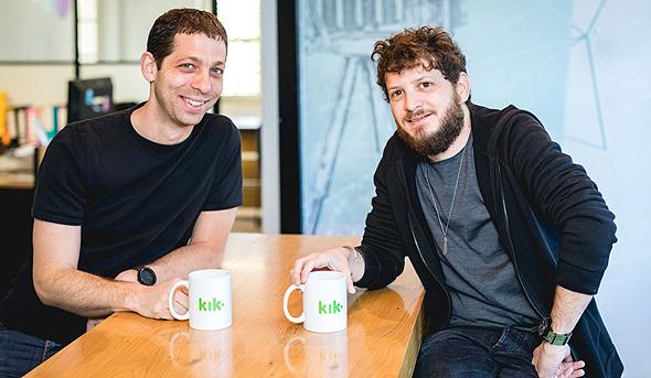 מייסדי ראונדס דני פישל ואילן לייבוביץ'. גייסו 24 מיליון דולר