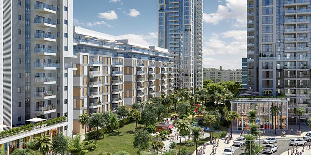 """עיריית ת""""א מקדמת את פרויקט הפינוי-בינוי בשכונת נווה שרת: 1,159 דירות במקום 451 כיום"""