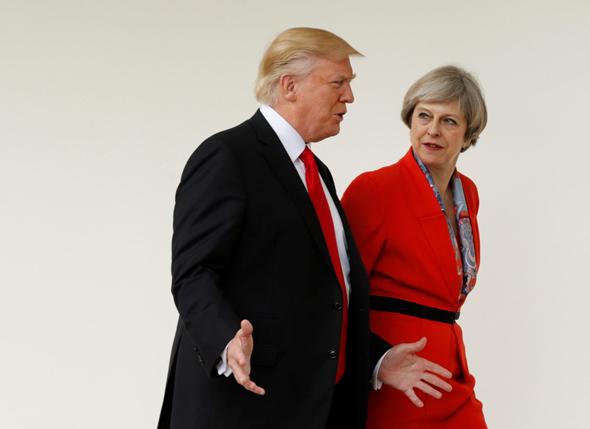 טראמפ ומיי