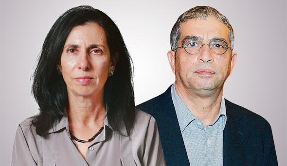 עופר אליהו ו דורית סלינגר, צילומים: אוראל כהן, אלכס קולומויסקי