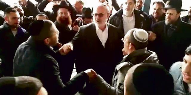 אדוארדו אלשטיין רוקד במסיבת השחרור של יאשיהו פינטו, צילום: וואלה NEWS