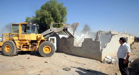 בנייה לא חוקית, צילום: ישראל יוסף