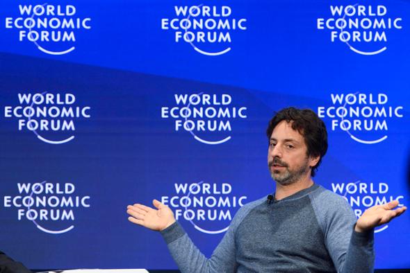 מייסד גוגל סרגיי ברין, צילום: אי פי איי
