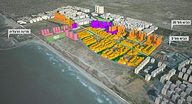 הדמיה תוכנית חוף התכלת, הדמיה: קייזר אדריכלים