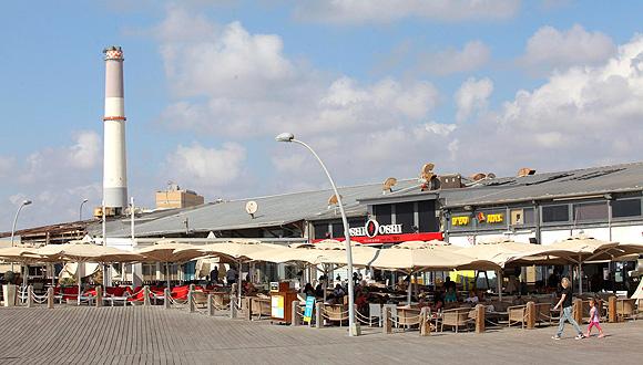 Tel Aviv Port. Photo: Orel Cohen