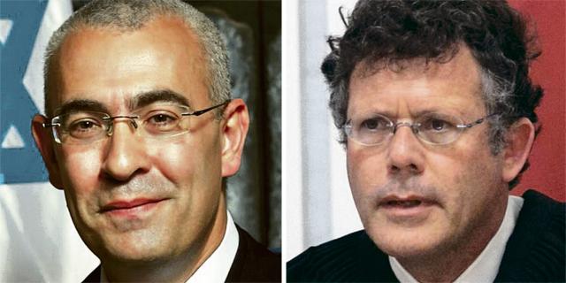 מימין: השופטים יצחק עמית ועופר גרוסקופף