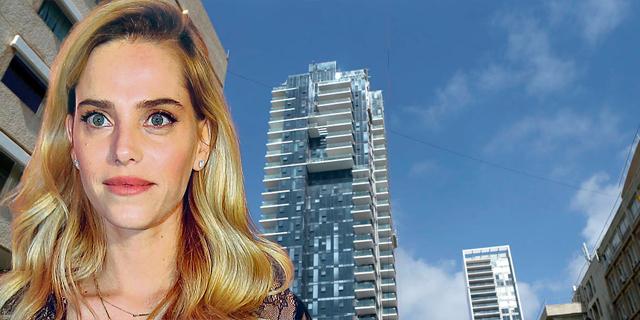 """השכנים נאים: הדוגמנית רותם סלע ובעלה יזם הנדל""""ן רוטר רכשו דירה במגדל הגימנסיה בת""""א ב־15 מיליון שקל"""