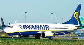 ריינאייר ריאנאייר תעופה RYANAIR, צילום: בלומברג