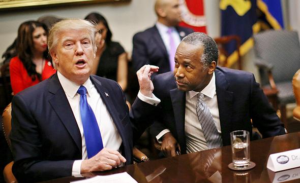 טראמפ ובן קרסון, צילום: רויטרס