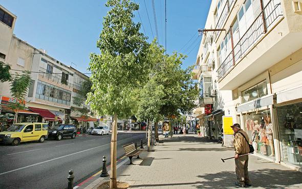 רחוב יהודה המכבי בתל אביב