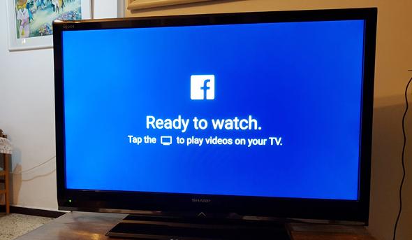פייסבוק בטלוויזיה. להאריך את זמן השהייה