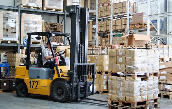 Forklift. Photo: Shutterstock