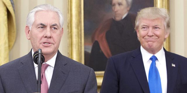 טראמפ הדיח את מזכיר המדינה טילרסון; ראש ה-CIA יחליפו