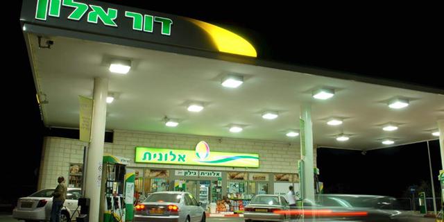 תחנת דלק של דור אלון, צילום: דורון גולן