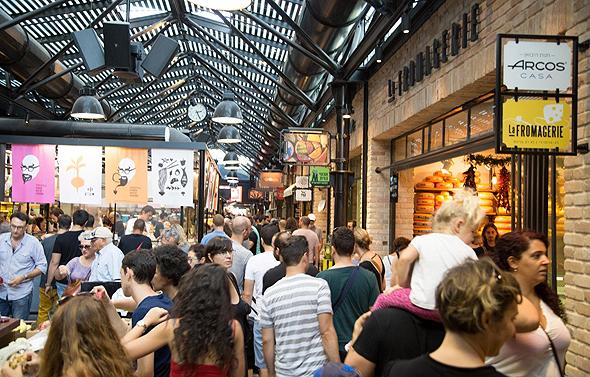שרונה מרקט שוק אוכל, צילום: עמרי אסולין