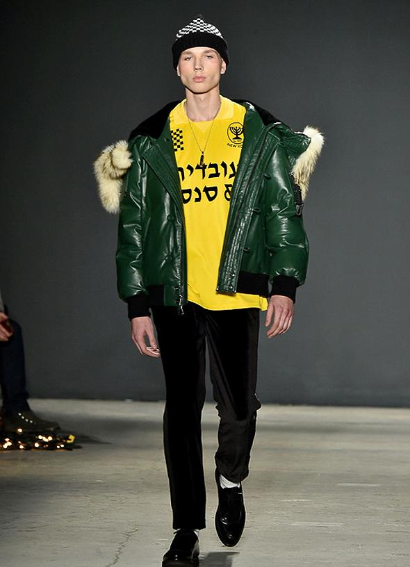 מתוך תצוגת האופנה של עובדיה אנד סאנס בניו יורק