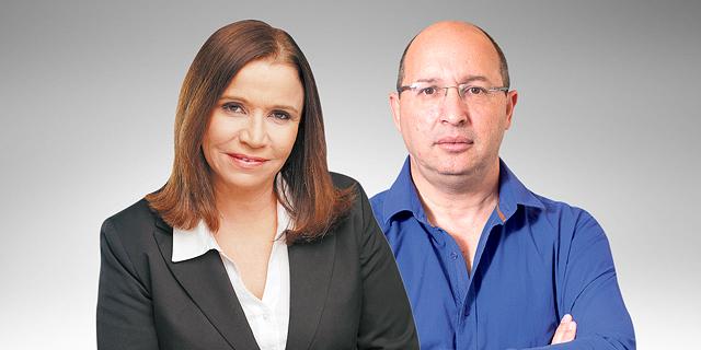 אבי ניסנקורן ושלי יחימוביץ, צילום: יובל חן