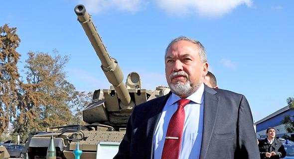 אביגדור ליברמן שר הביטחון, צילום: שאול גולן