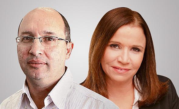 שלי יחימוביץ' ואבי ניסנקורן