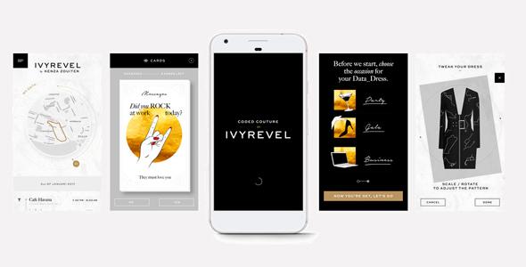 האפליקציה של איריבל , צילום: ivyrevel.com