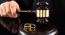 משפטיפ אילוסטרציה בית משפט דיני משפחה, צילום: bigstock