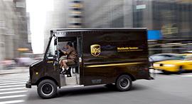 רכב משלוחים של UPS, צילום: גטי אימג'ס