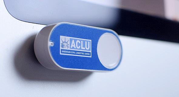 כפתור דאש אמזון ACLU