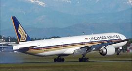 מטוס של סינגפור איירליינס