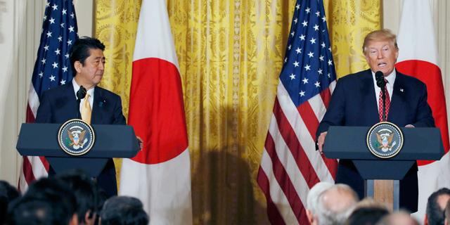 """אחרי ההאשמות בתמרוני מטבע: ארה""""ב תדון עם יפן על הסכם סחר"""